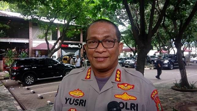 Kabid Humas Polda Metro Jaya, Kombes Pol Yusri Yunus. (Foto: iNews.id/Irfan Ma`ruf)
