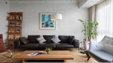 家中最受注目的焦點,8個美感的沙發背牆設計