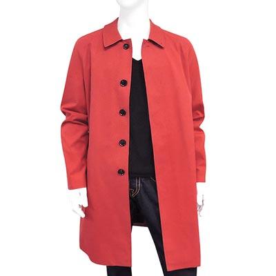 英國精製,簡約的剪裁設計感單排釦長版外套,完美修飾身型100%純棉,內裡以品牌經典格紋呈現