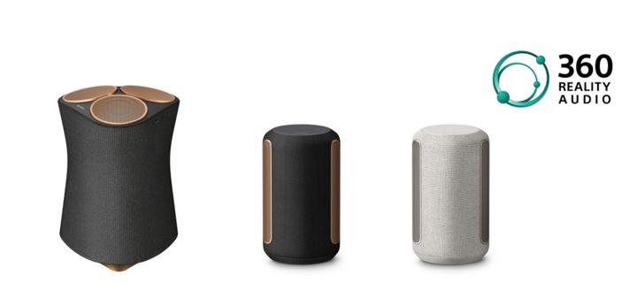 Sony 推出旗艦無線揚聲器 SRS-RA5000、SRS-RA3000。
