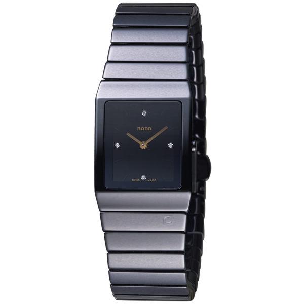 原廠公司貨n4顆鑲鑽點綴設計n陶瓷錶殼、錶帶n料號:R21702722