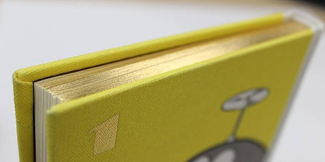 為了可以更好的保存,表面是布質硬書殼搭配燙金書背 ,書邊採用燙金技術 ,防止濕氣和灰塵。(互聯網)