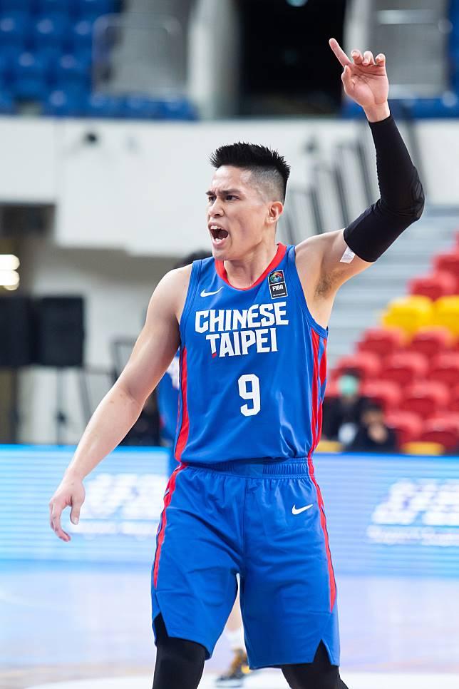 中華隊主控陳盈駿拿下全隊次高的20分。記者季相儒/攝影