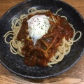 ミートソース - 実際訪問したユーザーが直接撮影して投稿した西新宿パスタスパゲティ屋くぼやんの写真のメニュー情報