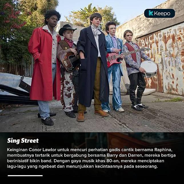 Baper yang menjadi karya, ada di film anak band Sing Street