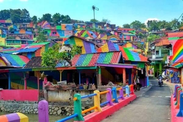 5 Kampung Ini Dulunya Kumuh Banget, Sekarang Jadi Cantik Abis!