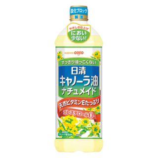 日清オイリオ キャノーラ油ナチュメイド