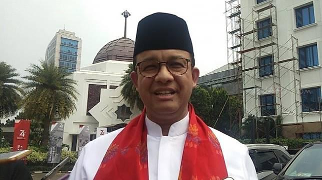 Gubernur DKI Jakarta Anies Baswedan. (Suara.com/Ria Rizki)