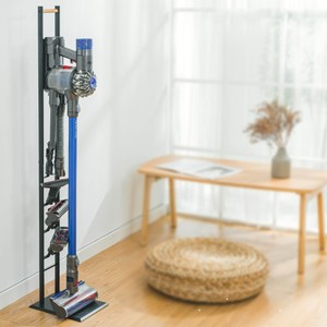 多功能電器收納架 可收納Dyson V11 LG A9手持吸塵器架 免破壞牆面設計 直立收納省空間