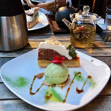 実際訪問したユーザーが直接撮影して投稿した神楽坂カフェ神楽坂 茶寮 本店の写真