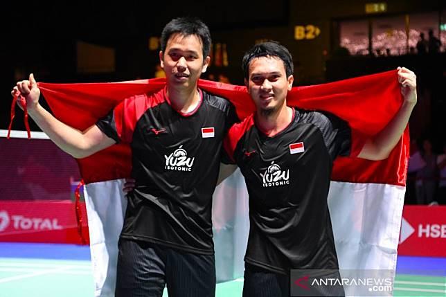 Ahsan/Hendra raih juara dunia ganda putra
