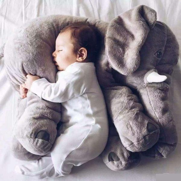 大象抱枕 IKEA 同款 彩色 安撫枕 靠枕 嬰兒 寵物 安撫 抱枕 絨毛娃娃RS520