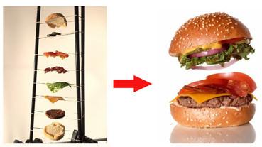 漢堡在空中飛的片段原來是這樣拍出來的…