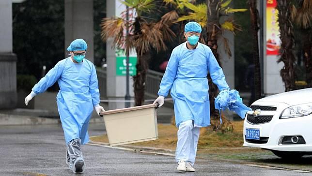 ▲武漢金銀灘醫院(圖/翻攝RFI)
