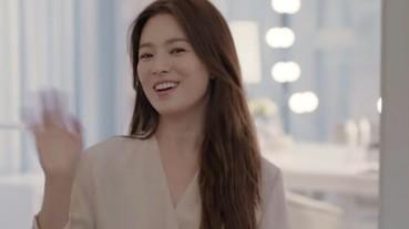 宋慧喬拍攝 Dyson 吹風機廣告 流利中文跟台灣觀眾問好讓大家融化!