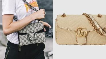 Gucci 名牌手袋精選 10 款最新 2019 時尚手袋合集 靚款 Shoulder bag+Leather Belt Bag