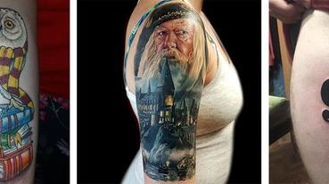 《哈利波特》出版二十周年!鄧不利多的軍隊紛紛曬出「哈式刺青」慶祝活下來的男孩!