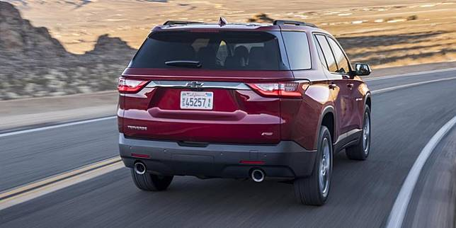 Chevrolet Traverse 2015 (Autoevolution)