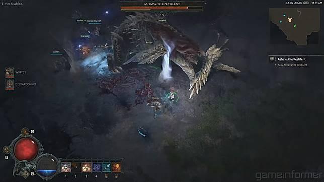 "Video pertarungan melawan Ashava ini hendak memberikan gambaran skenario ""MMO"" yang hendak didorong Blizzard untuk Diablo IV."