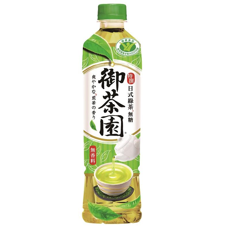御茶園特撰日式綠茶550ml