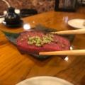 阿波牛ロース - 実際訪問したユーザーが直接撮影して投稿した西新宿居酒屋原始焼・二代目・魚々子の写真のメニュー情報