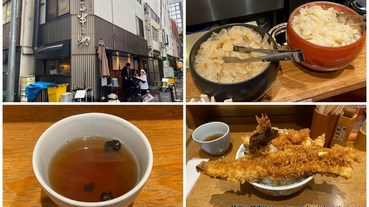 金子半之助日本橋本店,超豪華天丼名不虛傳