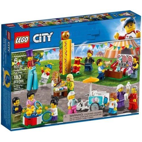 樂高積木 LEGO《 LT60234 》City 城市系列 - 人偶套裝 園遊會╭★ JOYBUS玩具百貨