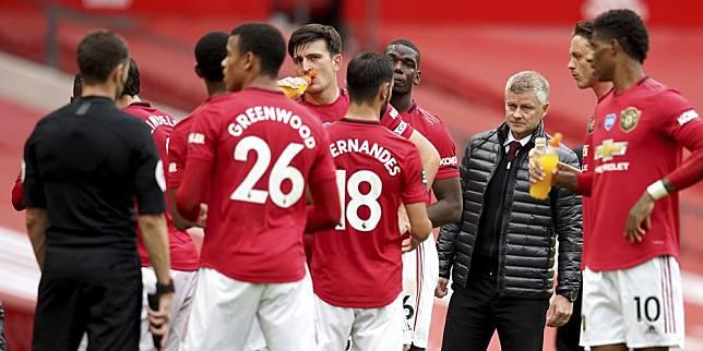 Manchester United ketika berjumpa Bournemouth di pekan ke-33 Premier League 2019/2020, Sabtu (4/7/2020) malam WIB (c) AP Photo