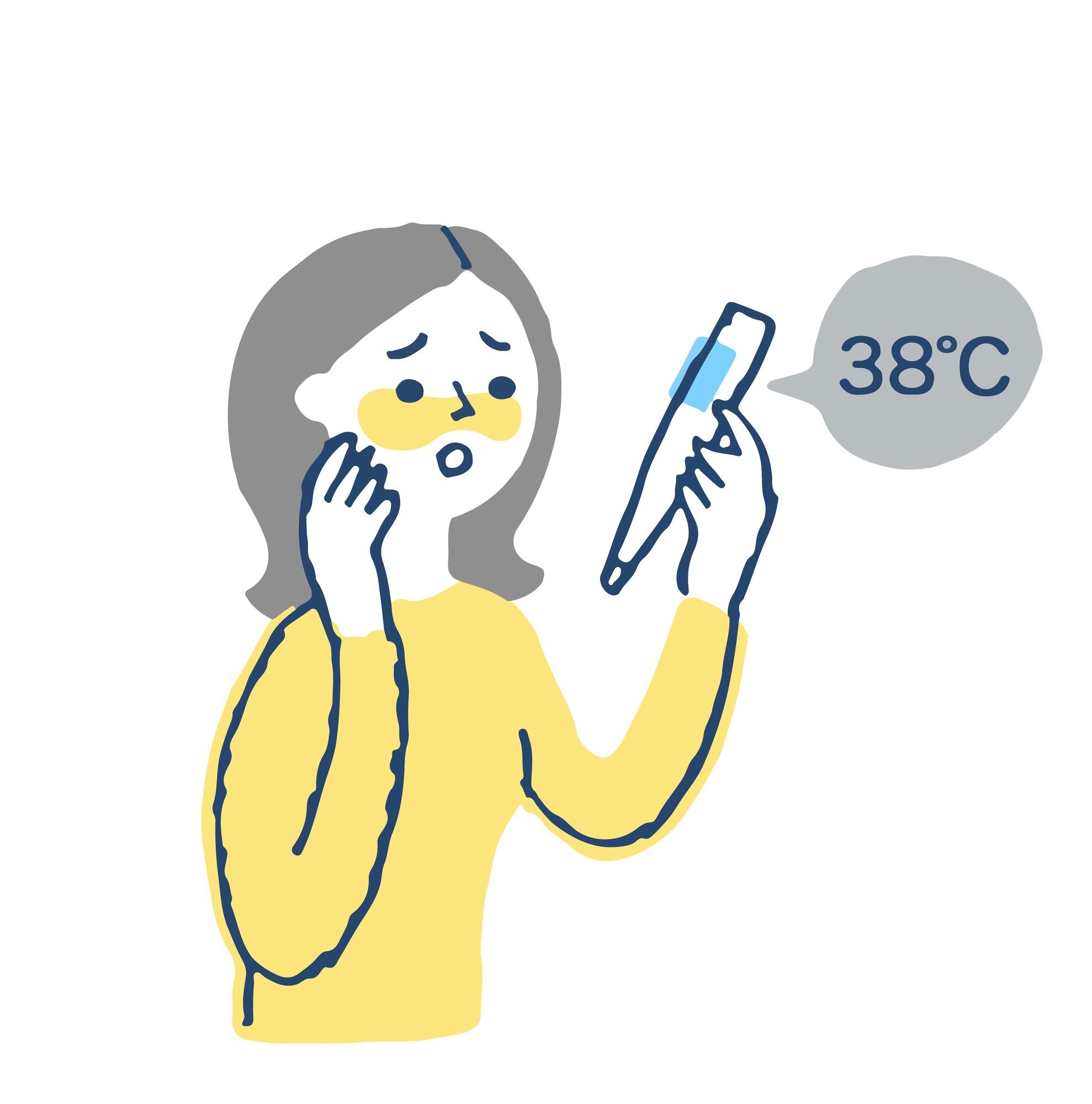 体温計 測り 方 脇
