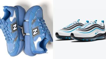 鞋頭必備的足下冷氣!激推三雙「白藍」降溫視覺球鞋,Nike、New Balance 這個夏天你必須來一雙!
