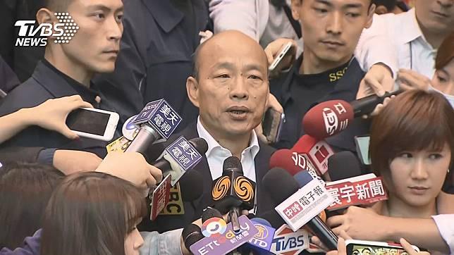 國民黨總統候選人韓國瑜。圖/TVBS資料畫面
