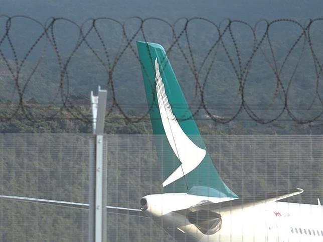 國泰一乘客證實染新型肺炎,上周由武漢經香港到洛杉磯。(港台圖片)