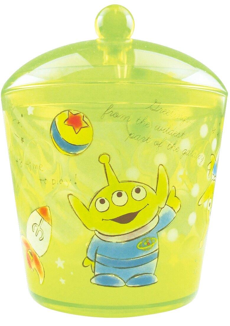 【真愛日本】4548626093106 小物收納罐-三眼怪GAB 玩具總動員 三眼怪 外星人 toys 迪士尼 飾品盒 收納盒 收納罐 置物罐 儲物罐 桌上收納