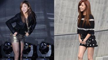 做深蹲腿變粗嗎?肌腿韓星 Luna 傳授 3 步「滾出鉛筆腿型」!小編:真的瘦太多了...
