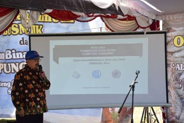Lima Tahun, Politeknik KP Jembrana Wujudkan Kampung Vanamei