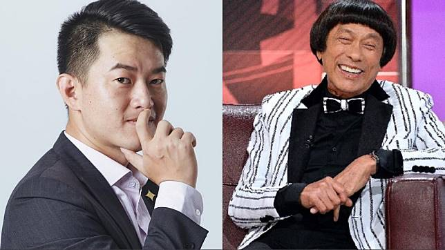 陳柏惟(圖左)透露將「3Q」掛在嘴邊的靈感來自於已故秀場天王豬哥亮。(圖/翻攝自陳柏惟臉書、TVBS資料照)