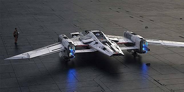 Pesawat film Star Wars: Rise of Skywalker (Autoevolution)
