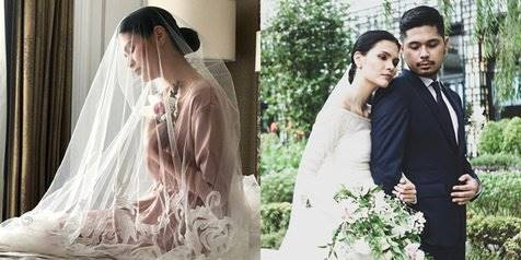 Pretty Bride! Ini Persiapan & Keanggunan Firrina Menikah Dengan Petra Sihombing