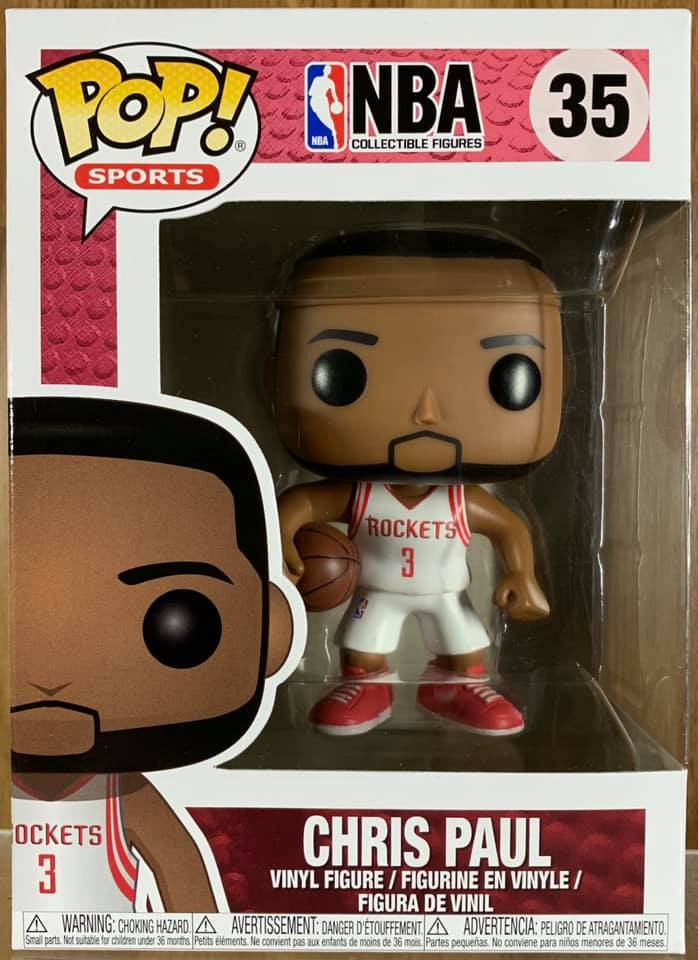 ☆勳寶玩具舖【現貨】Funko PoP 運動系列 NBA 休士頓 火箭隊 # 35 克里斯 保羅 Chris Paul
