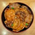 特盛豚丼 - 実際訪問したユーザーが直接撮影して投稿した西2条南丼もの豚丼のぶたはげ 本店の写真のメニュー情報
