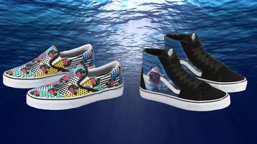 新聞分享 / 響應生態保育 Vans 跟 Discovery 把鯊魚放上 Sk8-Hi、Slip-On