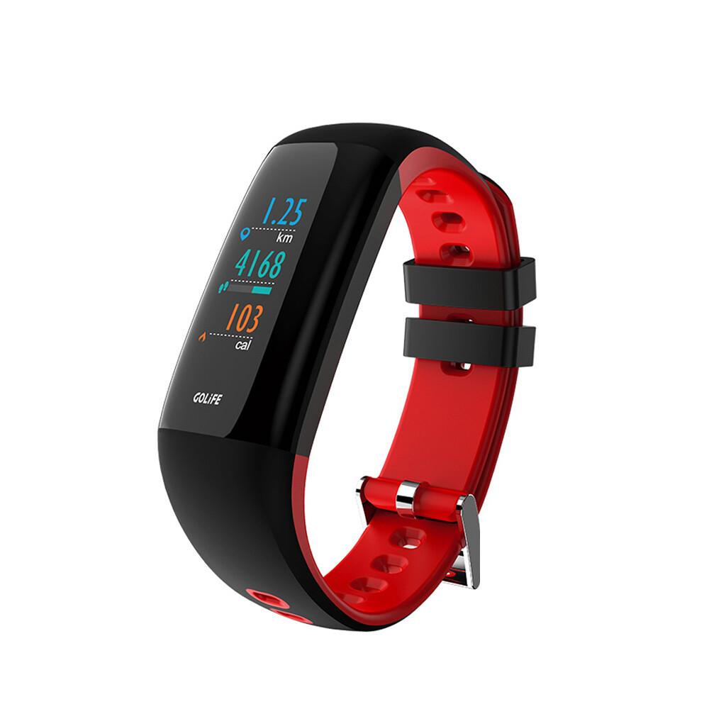 GOLIFE-Care-Xc 智慧全彩觸控心率手環