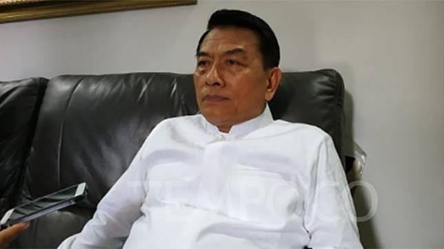 Presidential Chief of Staff Moeldoko. TEMPO/Budiarti Utami Putri