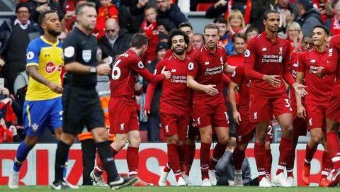 Jadwal Siaran Langsung Liga Inggris Southampton vs Liverpool