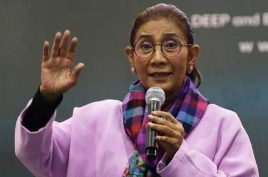 Merdeka, Susi Pamer Hasil Perikanan Indonesia