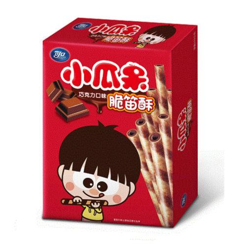 小瓜呆脆笛酥巧克力口味80g/盒