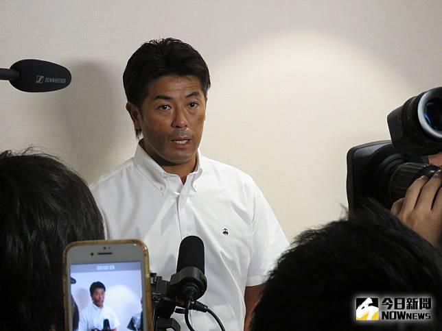 日本國家隊總教練稻葉篤紀(圖/劉祐廷攝)