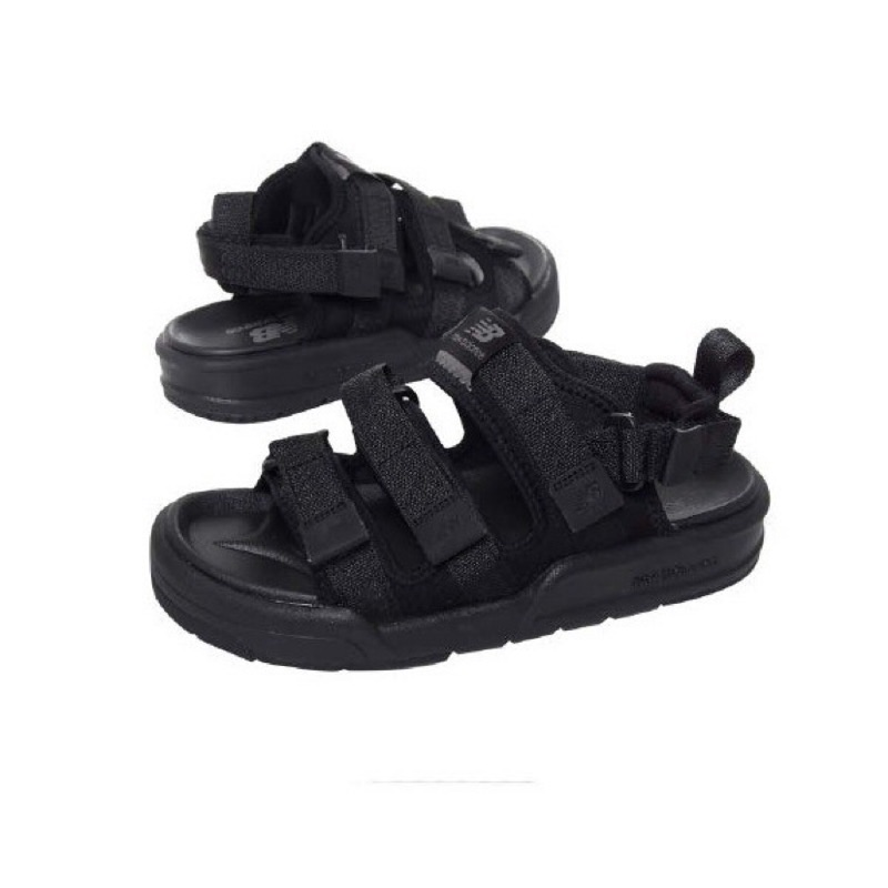 【現貨】New balance CRV 黑 全黑 魔鬼氈 涼鞋 男女鞋 SD3205BBW《CLASSICK》