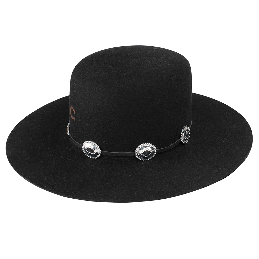 Stand out in a crowd with this hat from Charlie 1 Horse. Emblazoned with the iconic Charlie 1 Horse