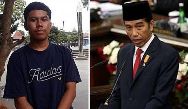 Bisa Tirukan Suara Presiden Jokowi dengan Sempurna, Siswa SMAN 4 Jakarta Viral